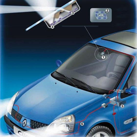 датчик света в автомобиле что это и схема