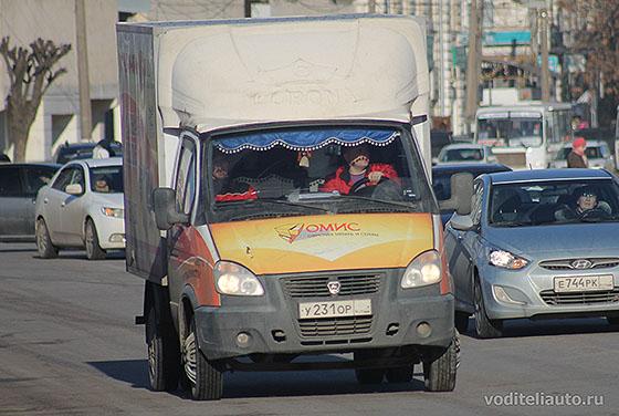 водитель-экспедитор на Газели