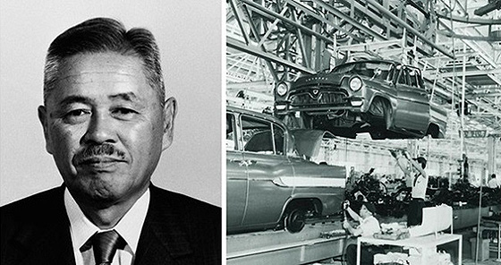 Таичи Оно (Taichi Ohno) - управляющий в компании Тойота