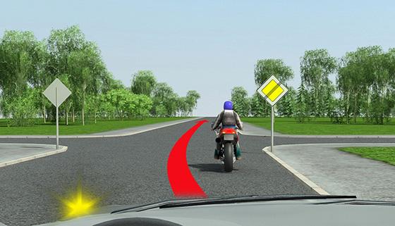 Обгон на нерегулируемом перекрестке не по главной дороге