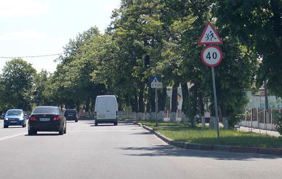 скоростной режим в населенных пунктах