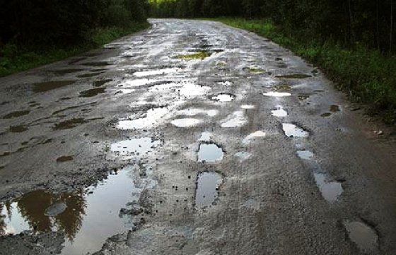 Состояние дорожного покрытия