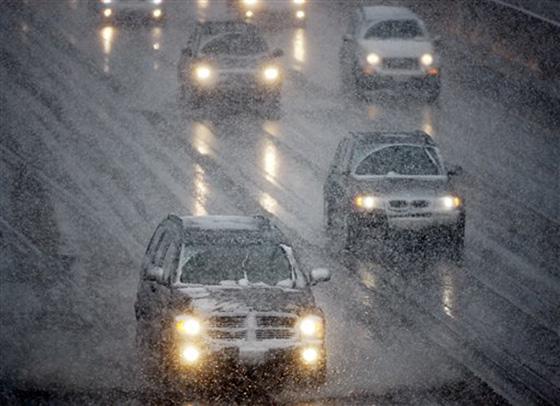 В плохую погоду скорость движения должна быть снижена