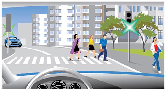 правило проезда через пешеходный переход