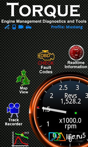 диагностика автомобилей своими руками с помощью адаптера на Андроид и программы TORQUE