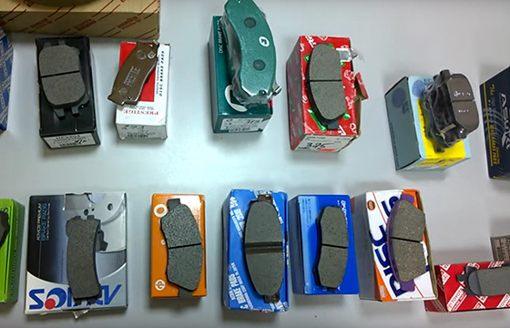 подбор тормозных колодок по марке автомобиля
