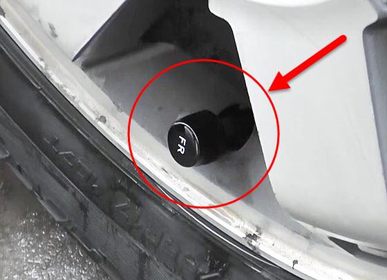 как устроен датчик давления в шинах