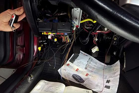 Инструкция по установке Старлайн А 93 на свой автомобиль