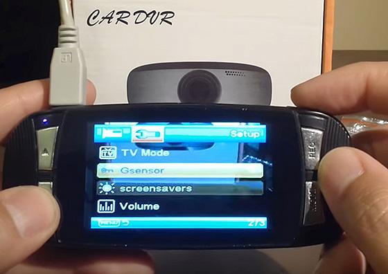 G-сенсор что это в видеорегистраторе