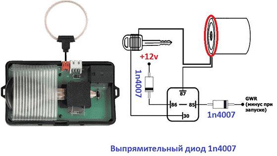 сигналка блокирует запуск двигателя что делать