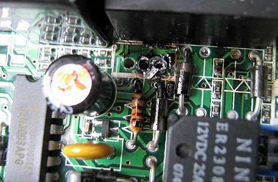 транзистор на плате