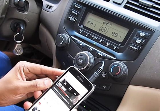 как подключить телефон к автомагнитоле через AUX