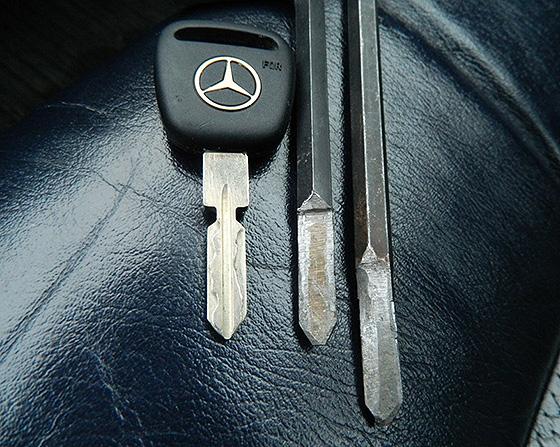 ключ Мерседес и заготовки