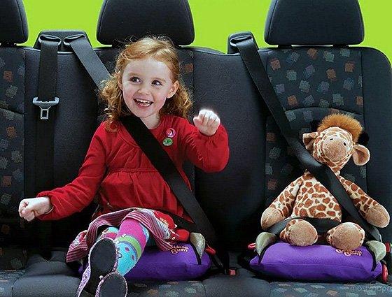 перевоз детей в машине